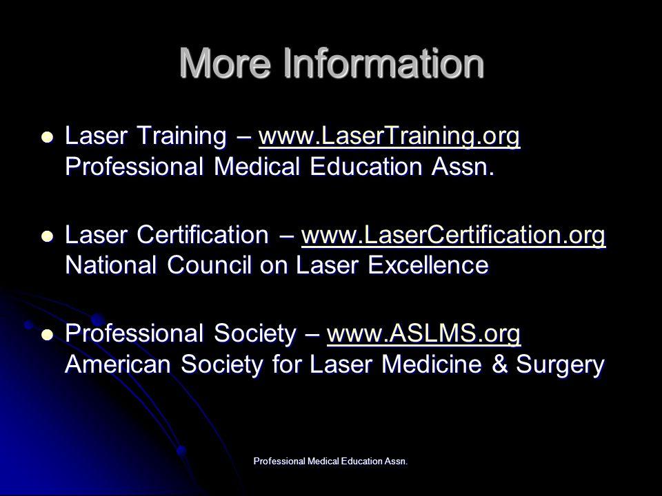 Professional Medical Education Assn.