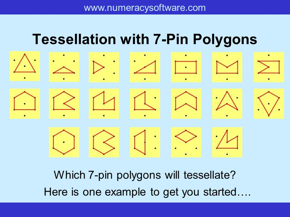 Tessellation with 7-Pin Polygons