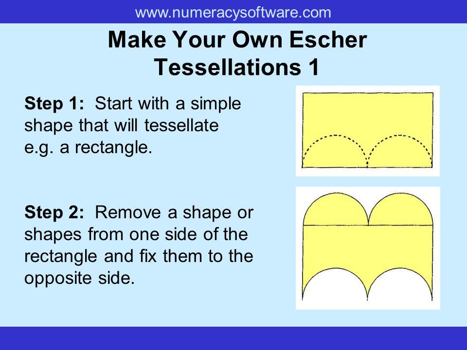 Make Your Own Escher Tessellations 1