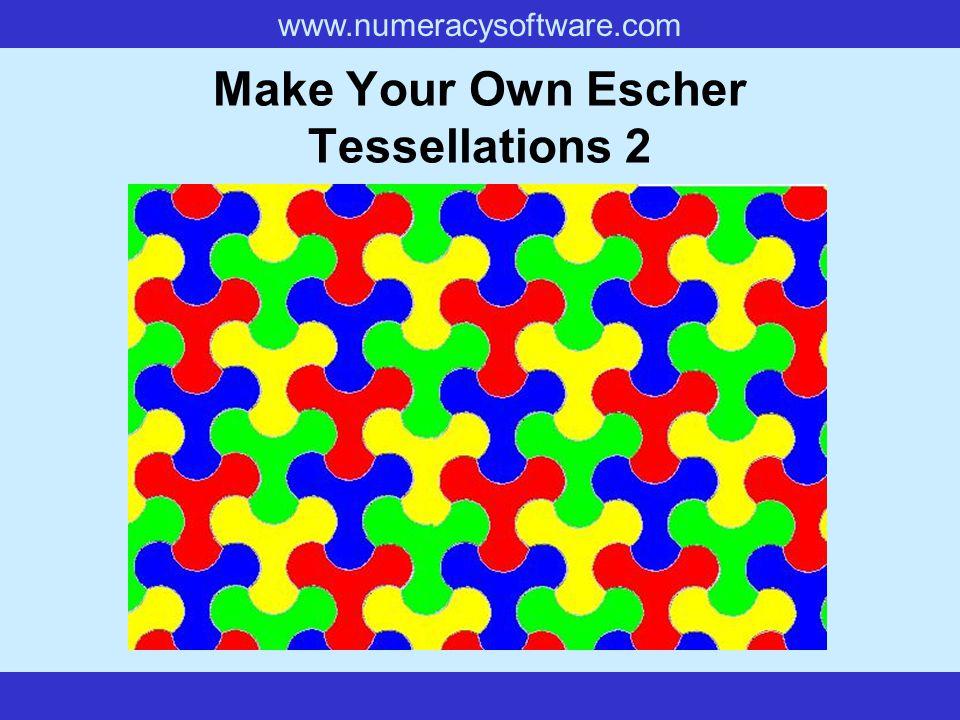 Make Your Own Escher Tessellations 2
