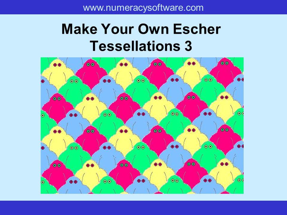 Make Your Own Escher Tessellations 3