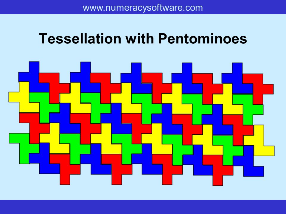 Tessellation with Pentominoes