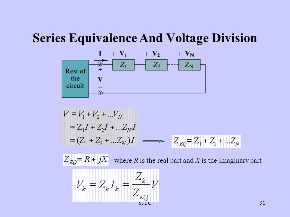 Series Equivalence And Voltage Division