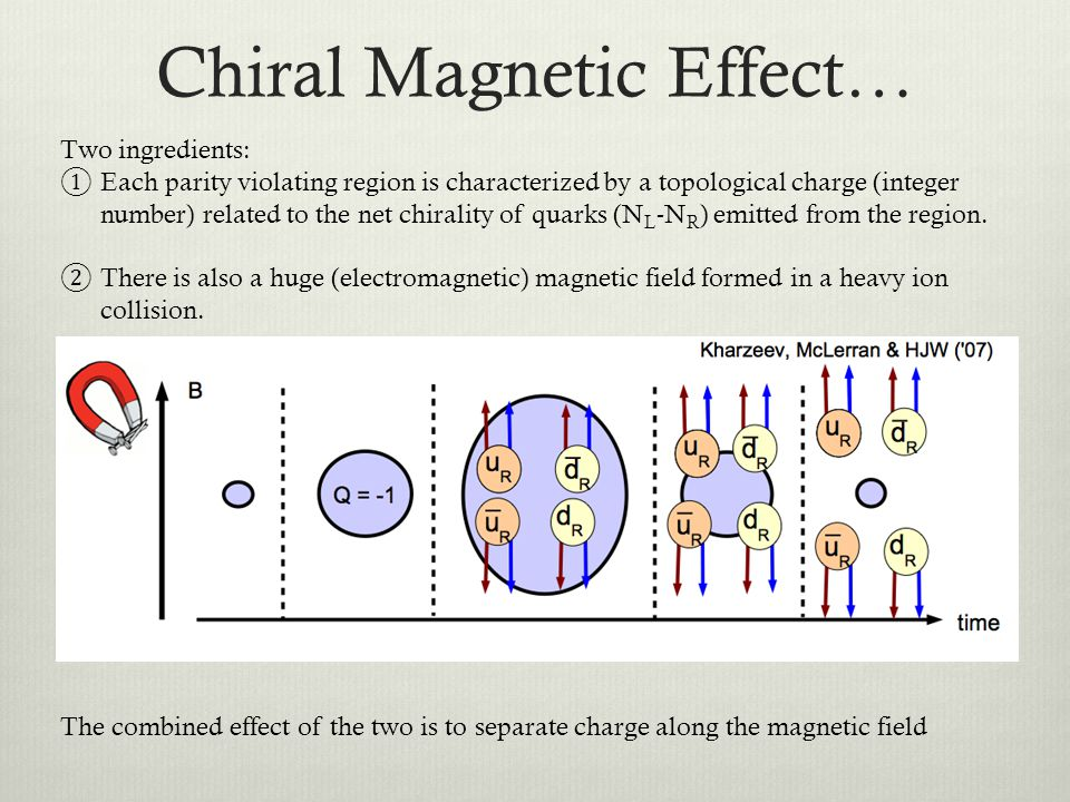 Chiral Magnetic Effect…
