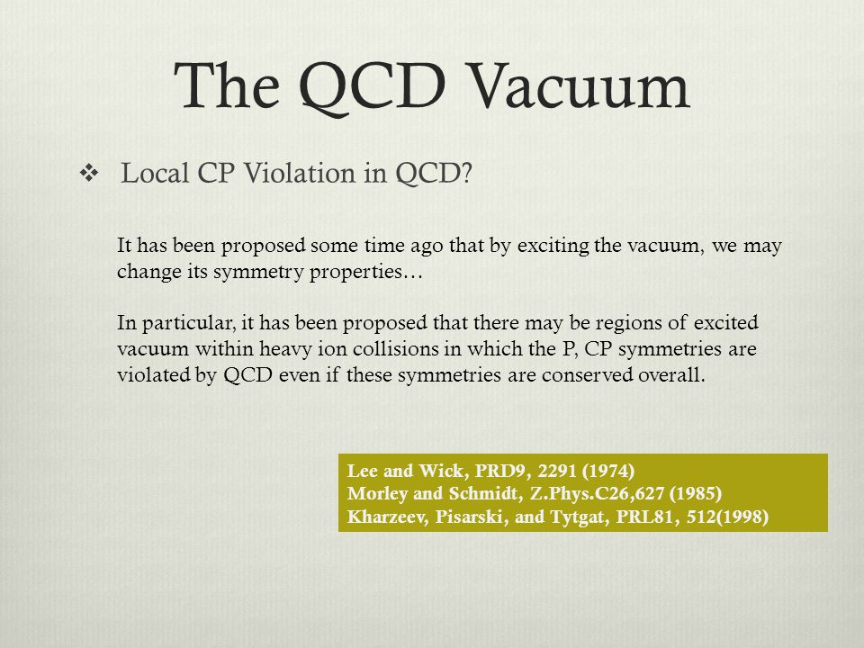 The QCD Vacuum Local CP Violation in QCD