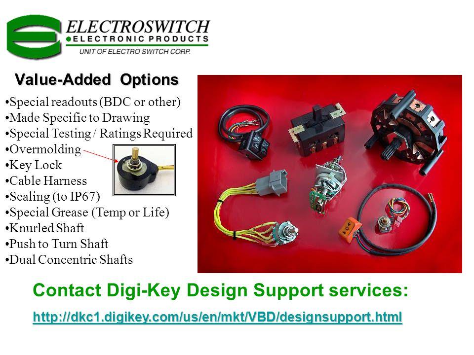 Contact Digi-Key Design Support services: