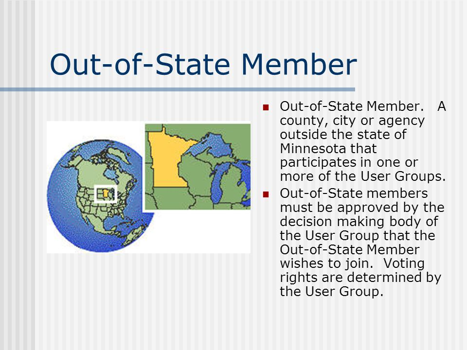 Out-of-State Member