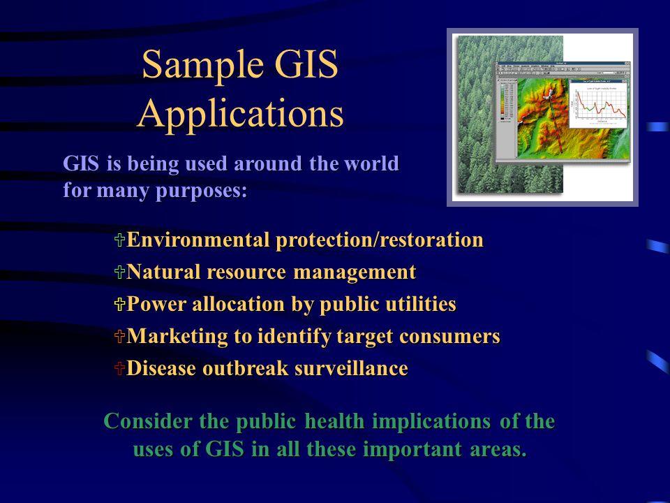 Sample GIS Applications