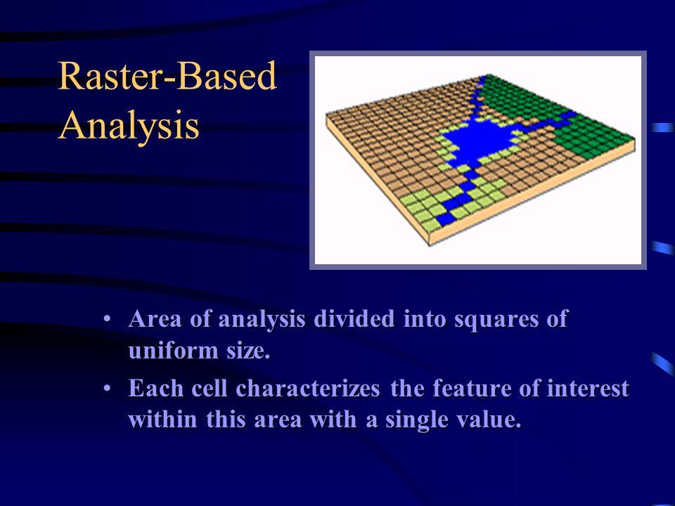 Raster-Based Analysis