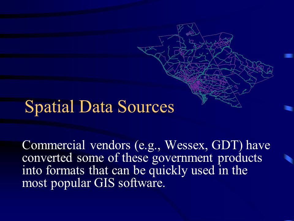Spatial Data Sources
