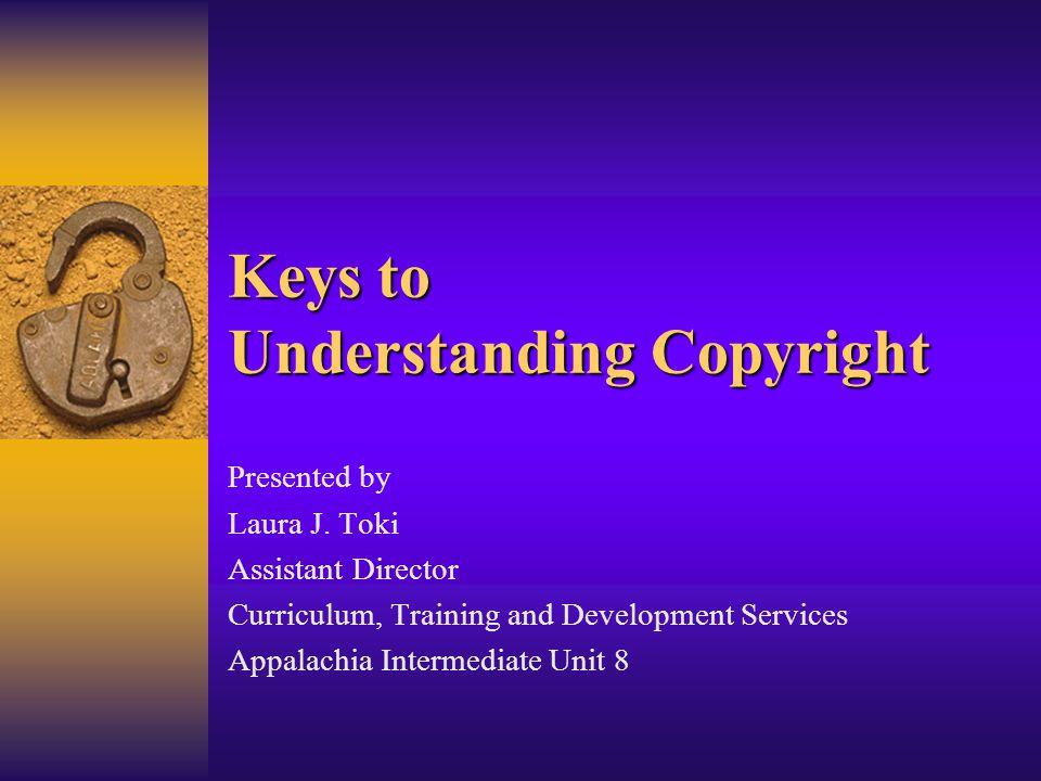 Keys to Understanding Copyright