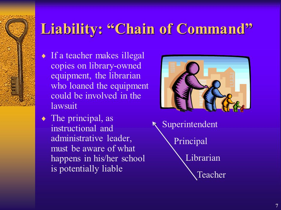 Liability: Chain of Command