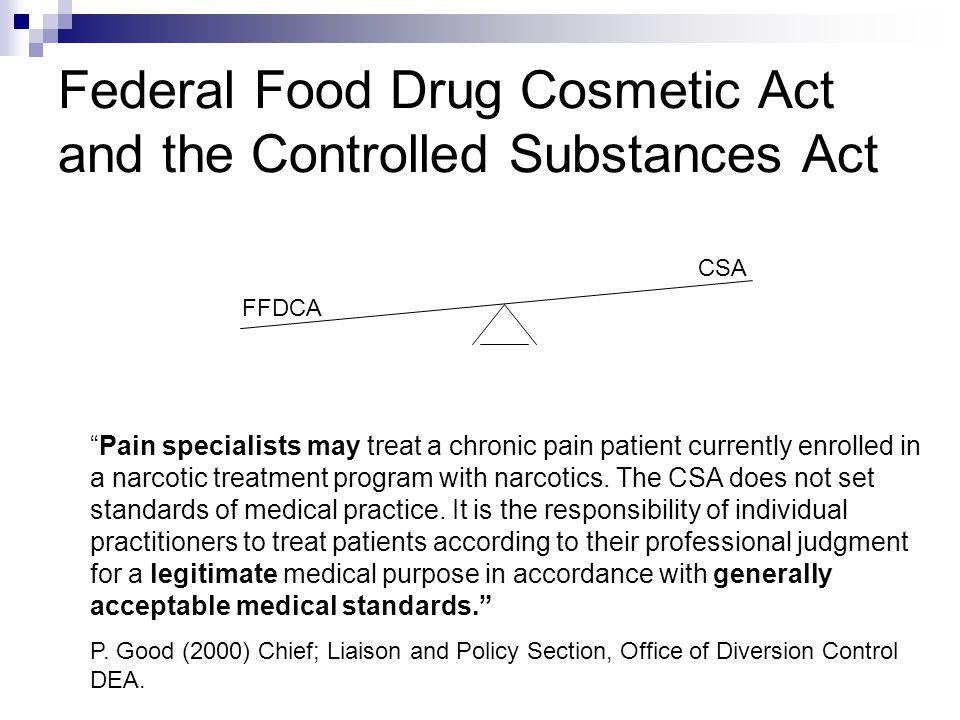 federal food and drug act Fd&c act reference information united states code, title 21 the laws of the united states are organized by subject into the united states code the united states code contains only the currently.