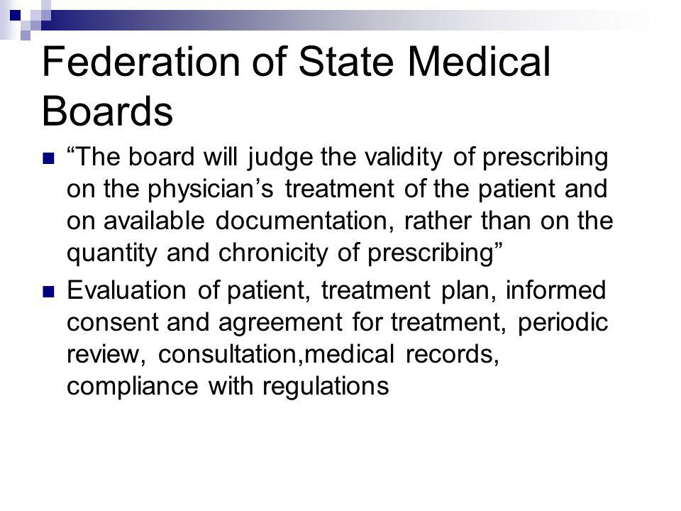 Federation of State Medical Boards
