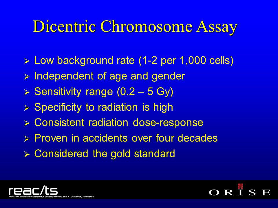 Dicentric Chromosome Assay