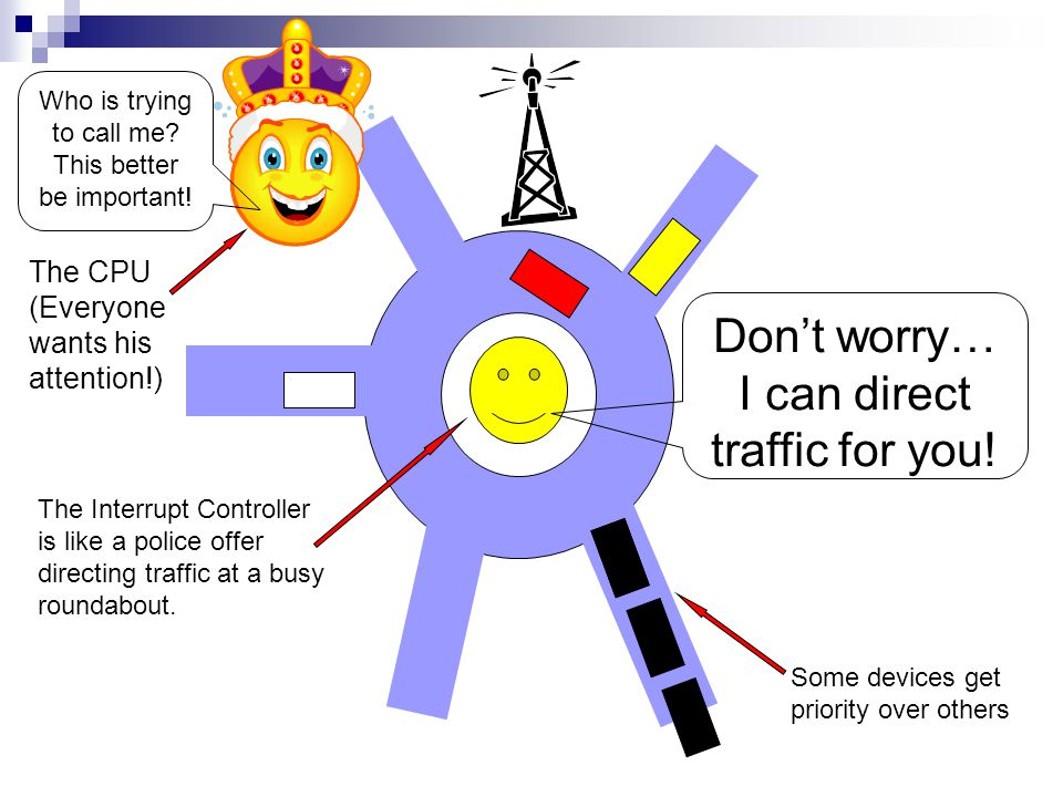 Don't worry… I can direct traffic for you!
