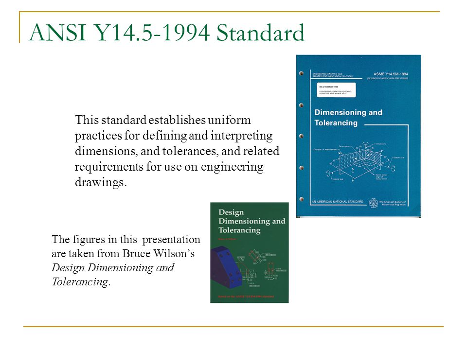 ANSI Y14.5-1994 Standard
