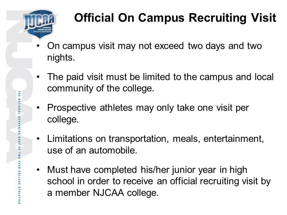 Official On Campus Recruiting Visit