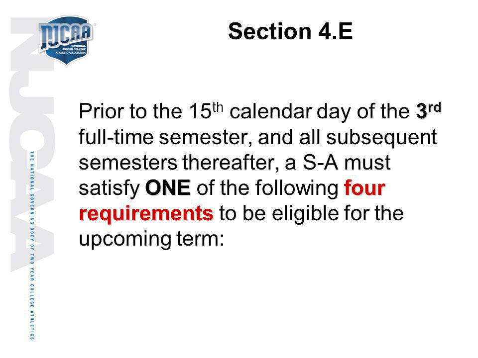 Section 4.E