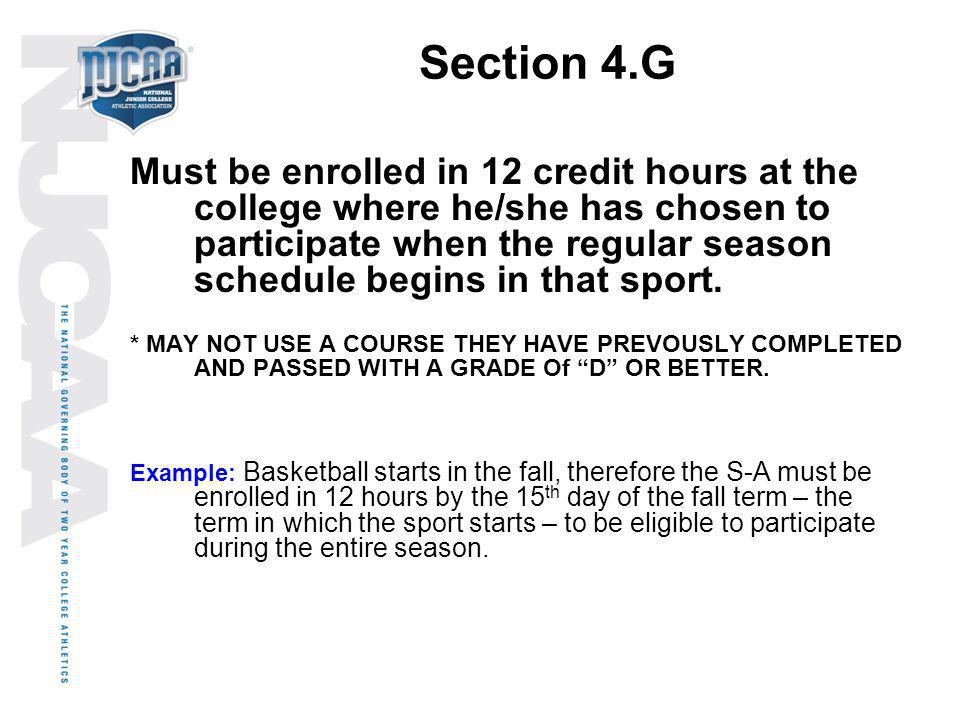 Section 4.G