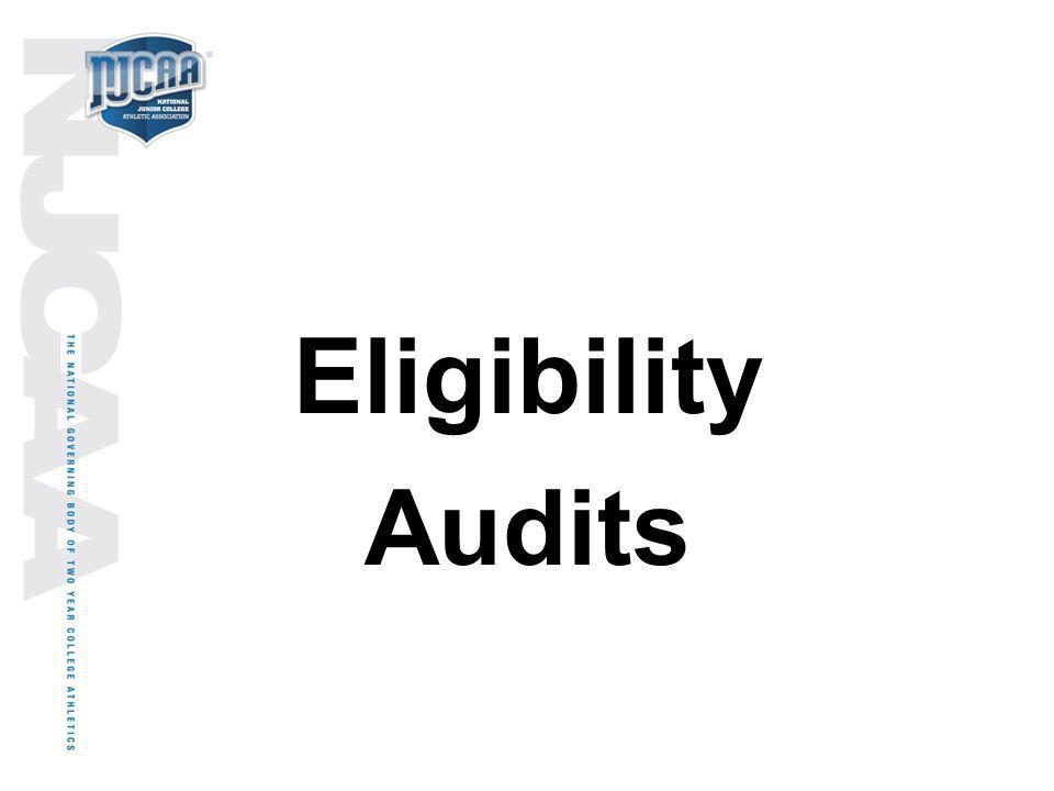 Eligibility Audits