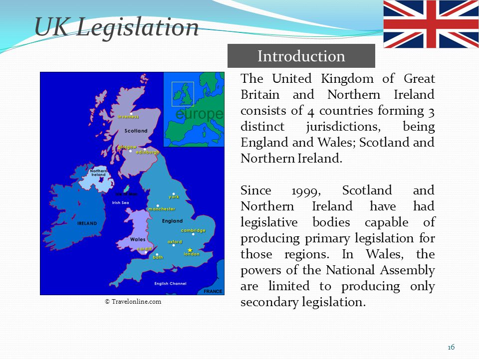 UK Legislation Introduction