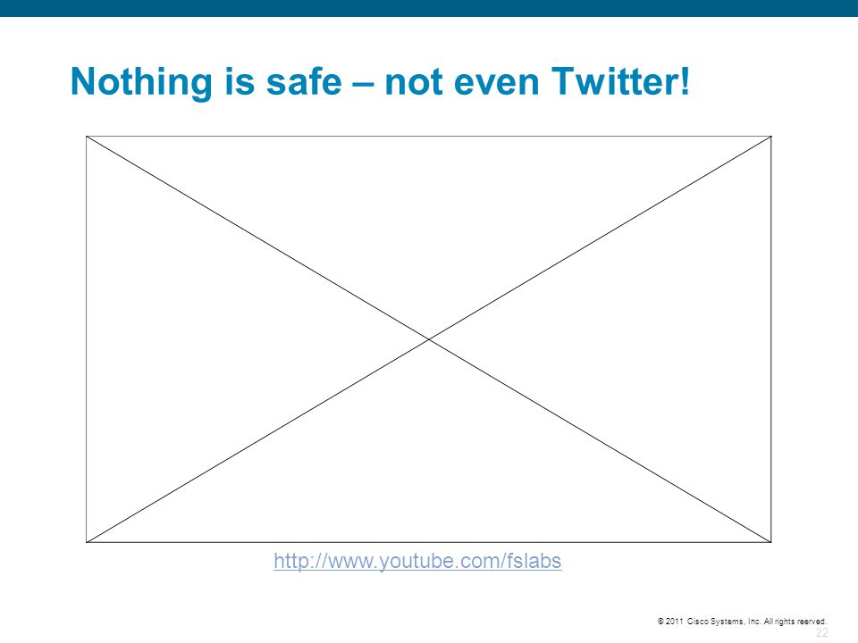 Nothing is safe – not even Twitter!