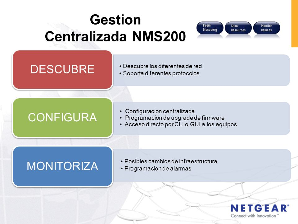 Gestion Centralizada NMS200