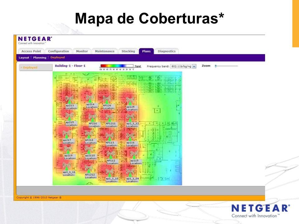 Mapa de Coberturas*