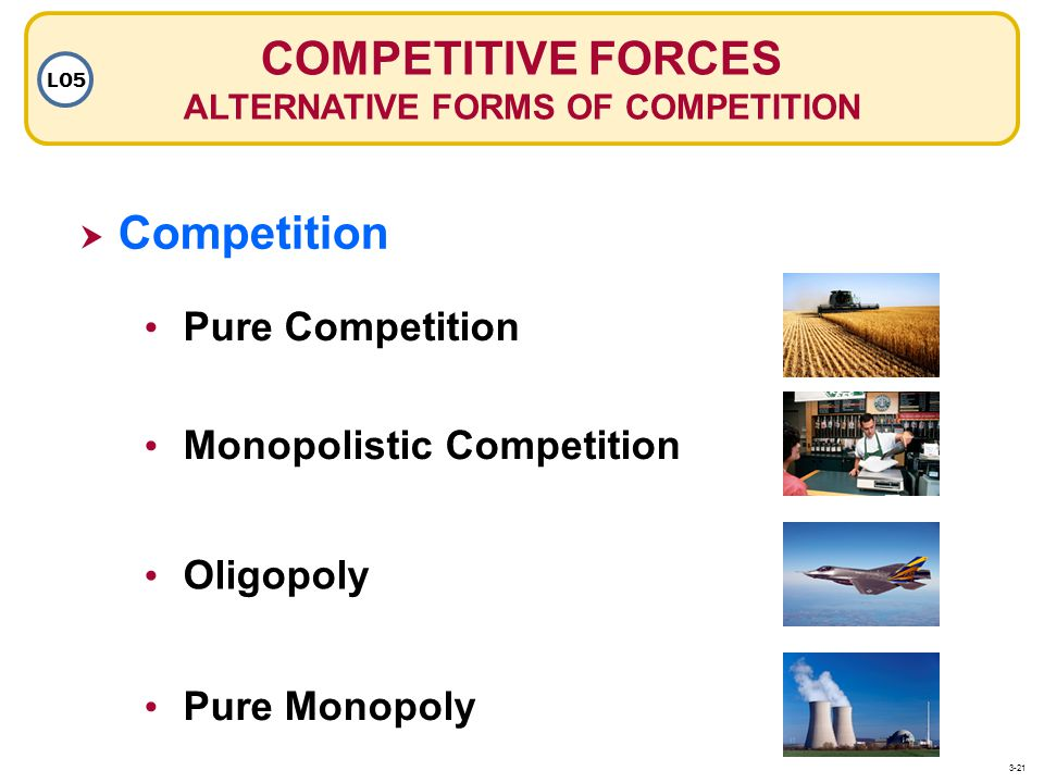ALTERNATIVE FORMS OF COMPETITION