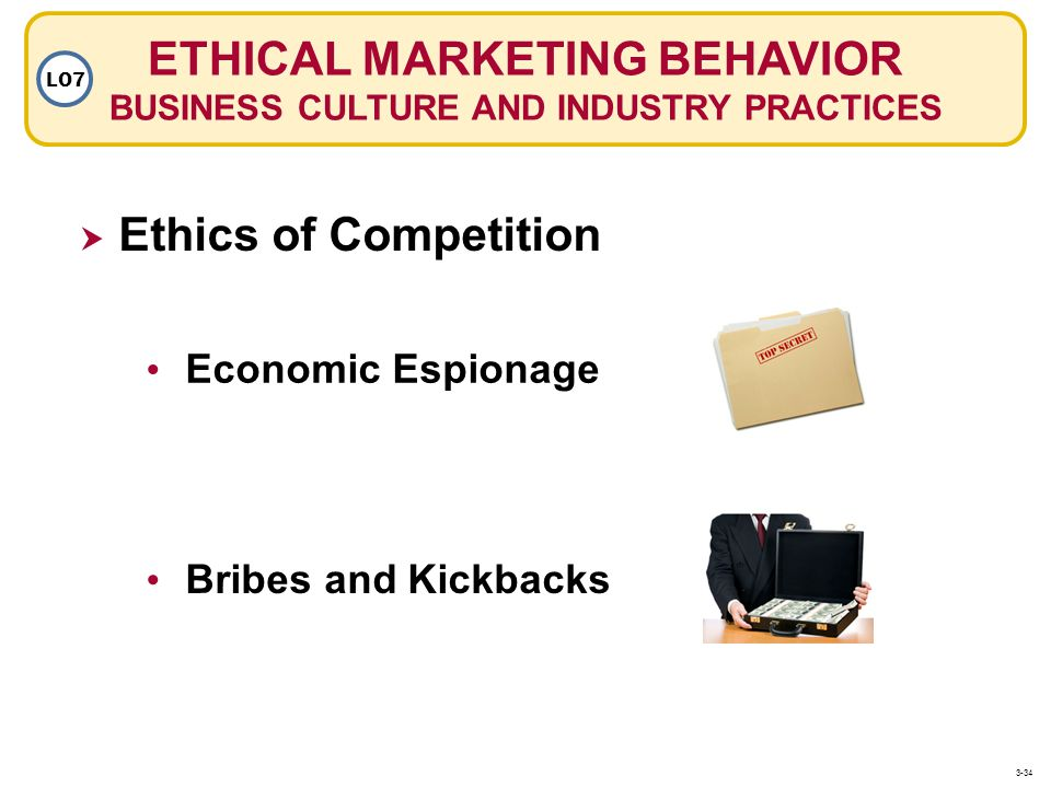 ETHICAL MARKETING BEHAVIOR BUSINESS CULTURE AND INDUSTRY PRACTICES