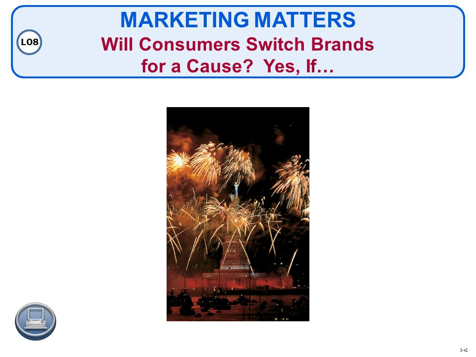 MARKETING MATTERS Will Consumers Switch Brands for a Cause Yes, If…