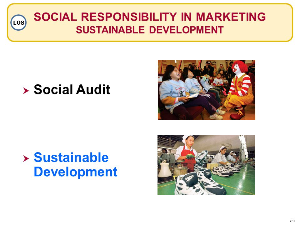 SOCIAL RESPONSIBILITY IN MARKETING SUSTAINABLE DEVELOPMENT