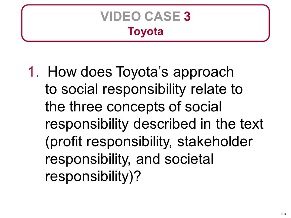 VIDEO CASE 3 Toyota.
