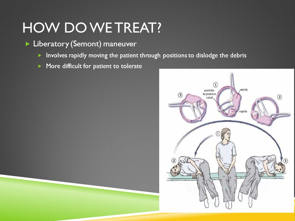 How do we treat Liberatory (Semont) maneuver