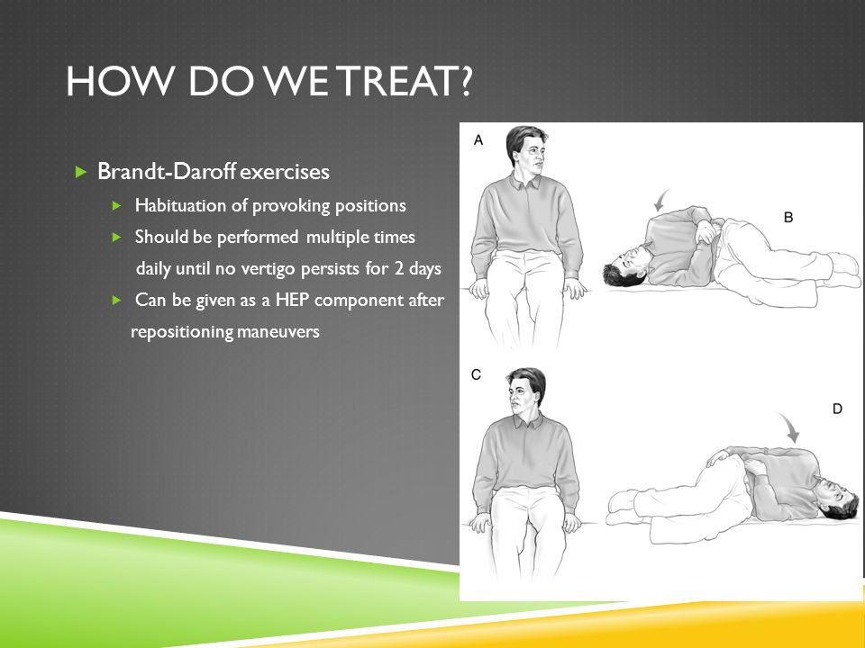How do we treat Brandt-Daroff exercises