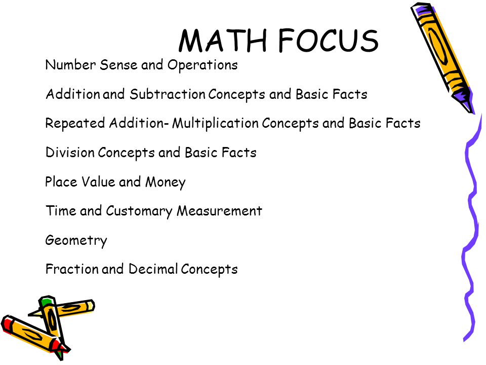 MATH FOCUS Number Sense and Operations