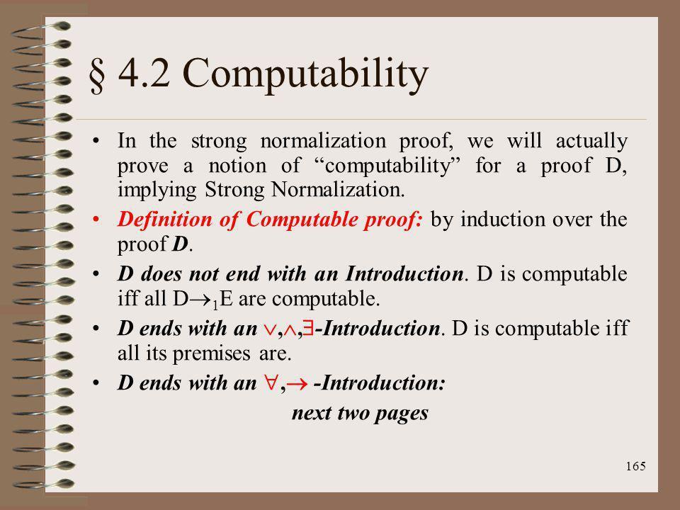 § 4.2 Computability