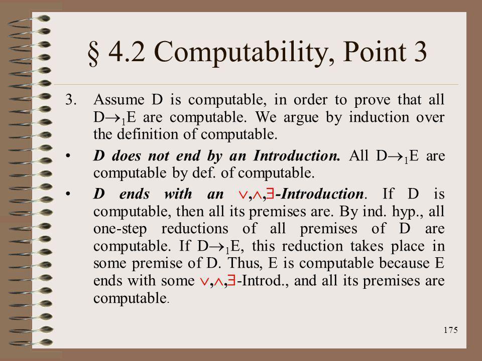 § 4.2 Computability, Point 3