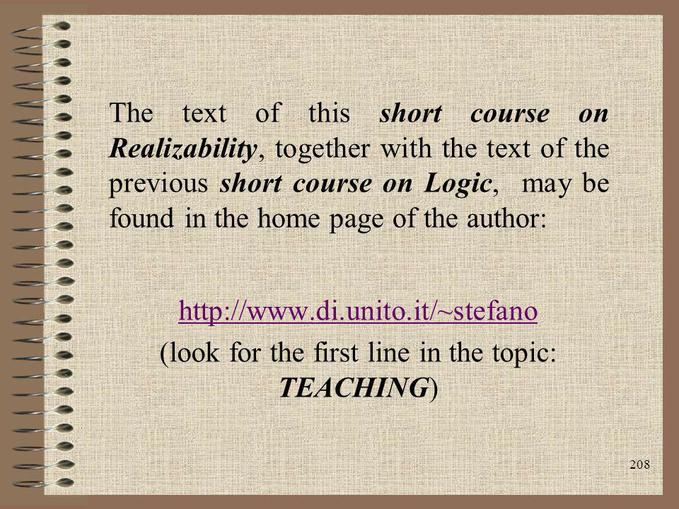 (look for the first line in the topic: TEACHING)