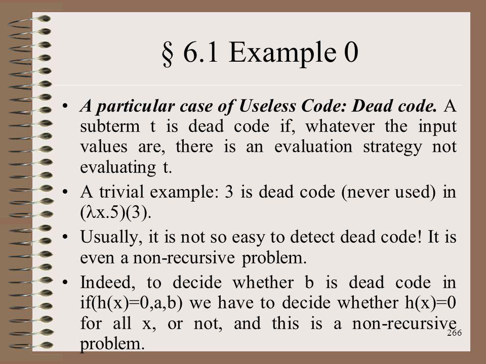§ 6.1 Example 0