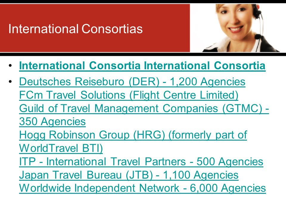 International Consortias