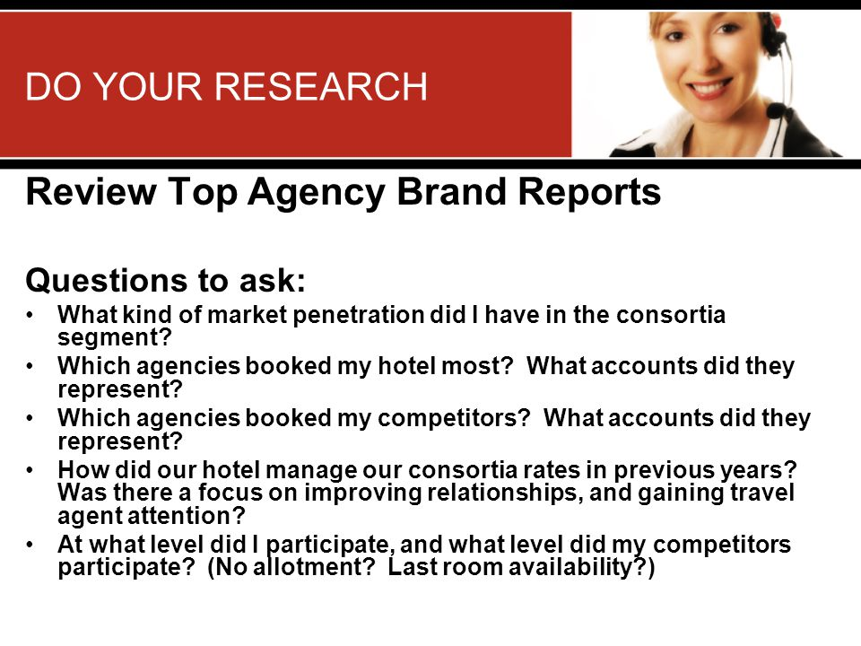 Review Top Agency Brand Reports