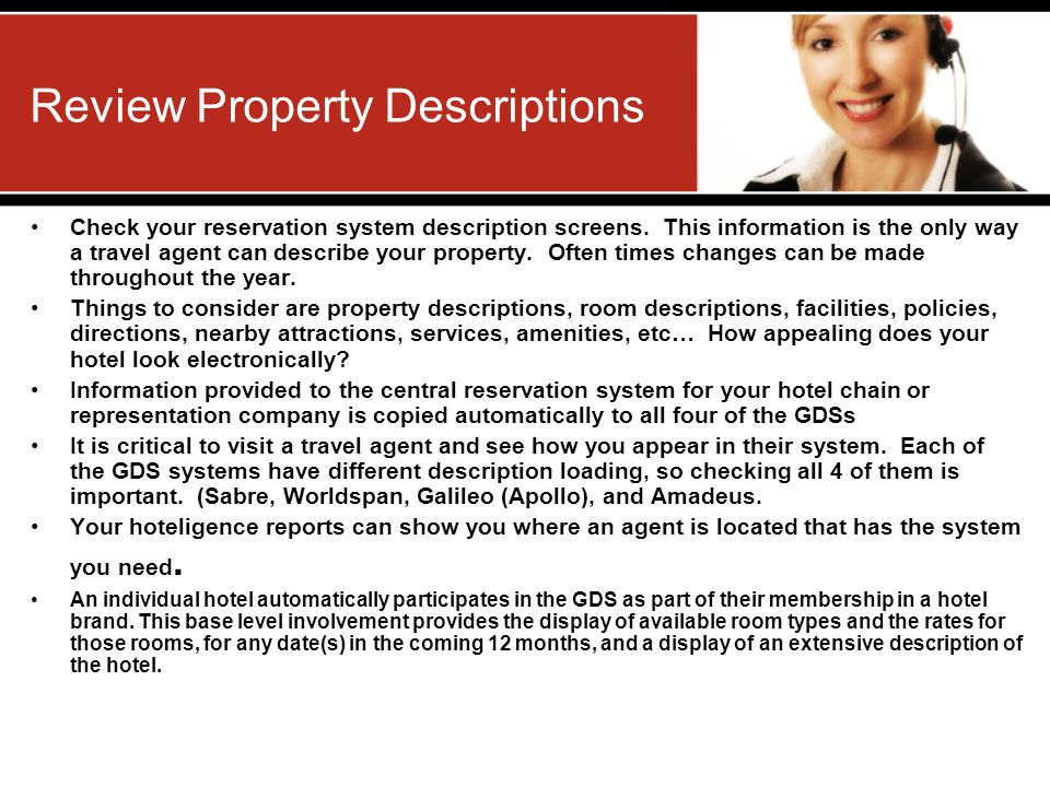 Review Property Descriptions