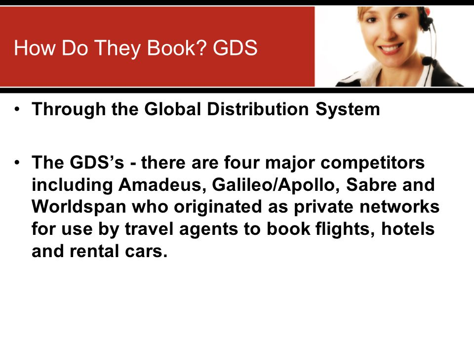 How Do They Book GDS Through the Global Distribution System