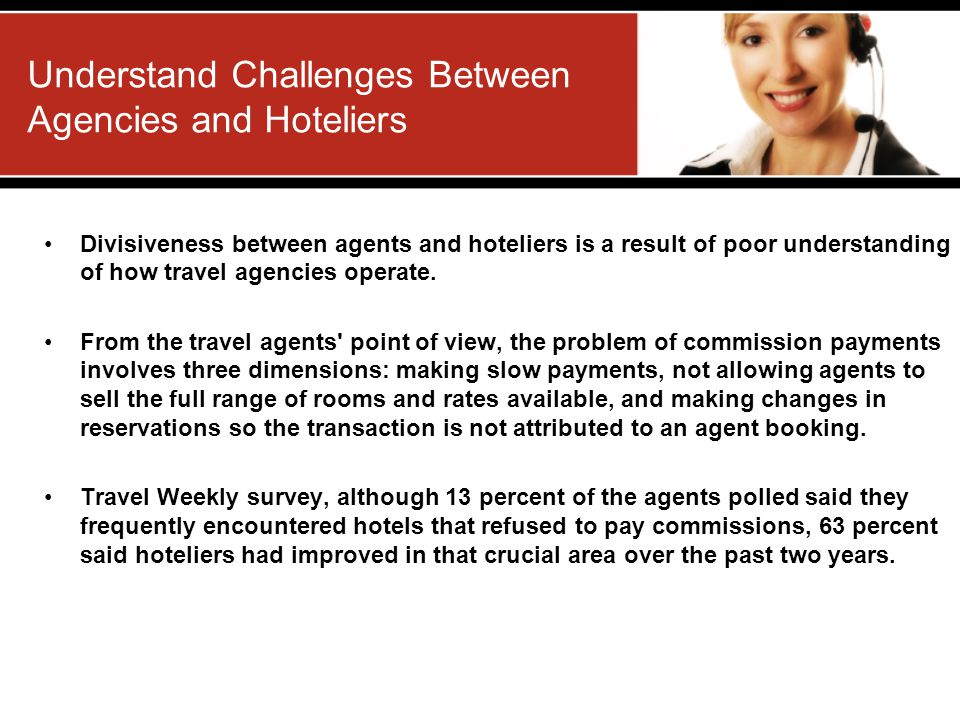 Understand Challenges Between Agencies and Hoteliers