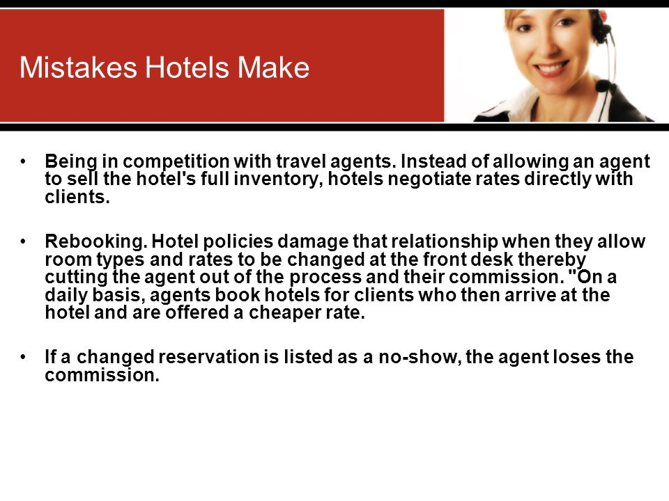 Mistakes Hotels Make