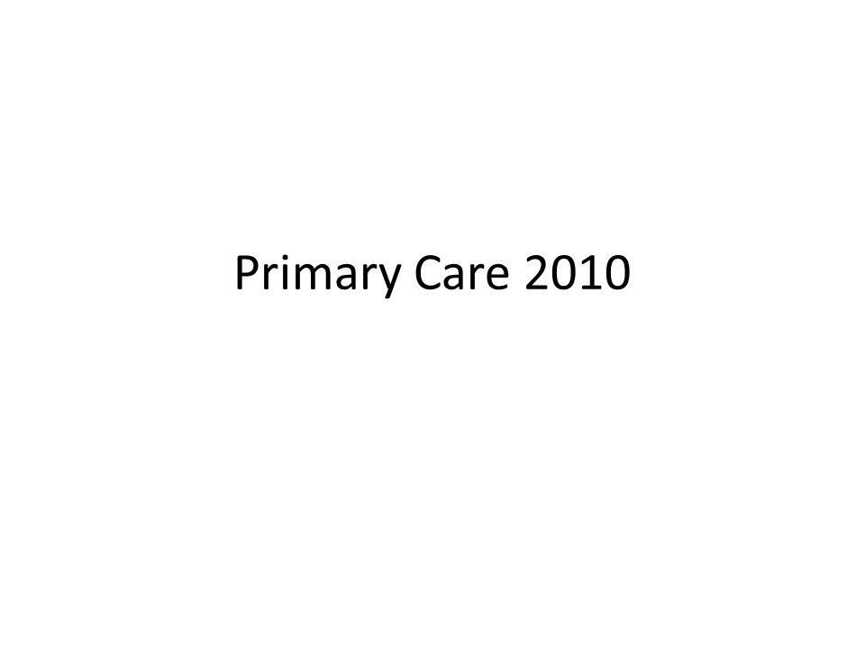 Primary Care 2010