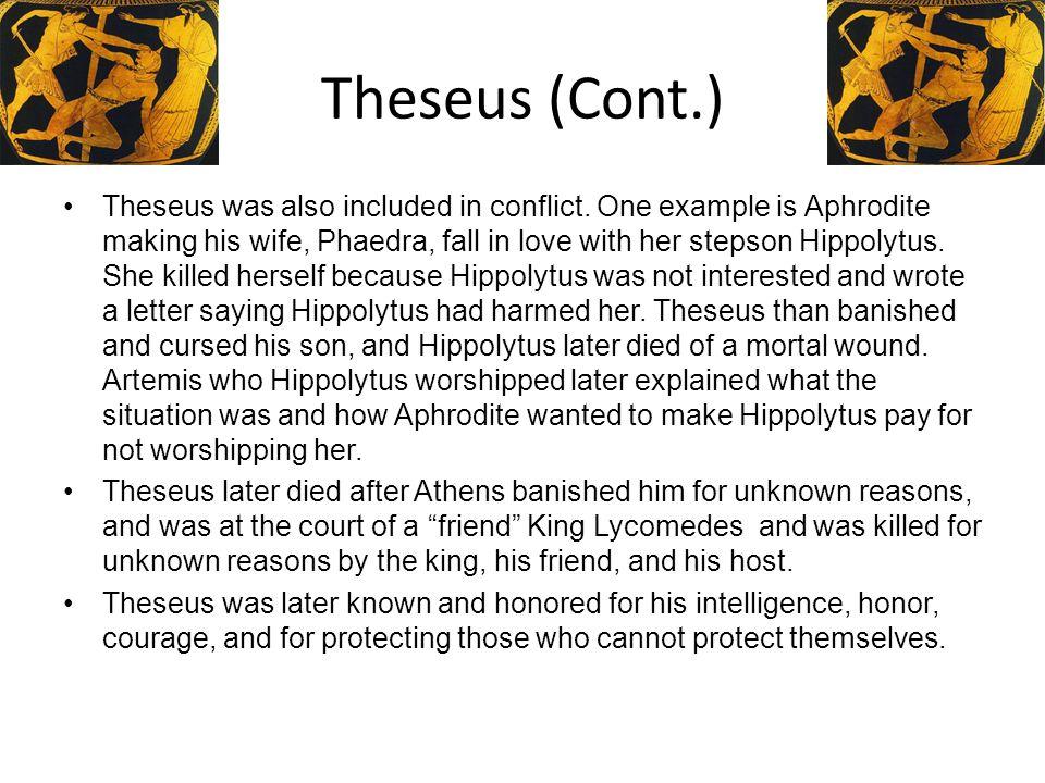 Theseus (Cont.)