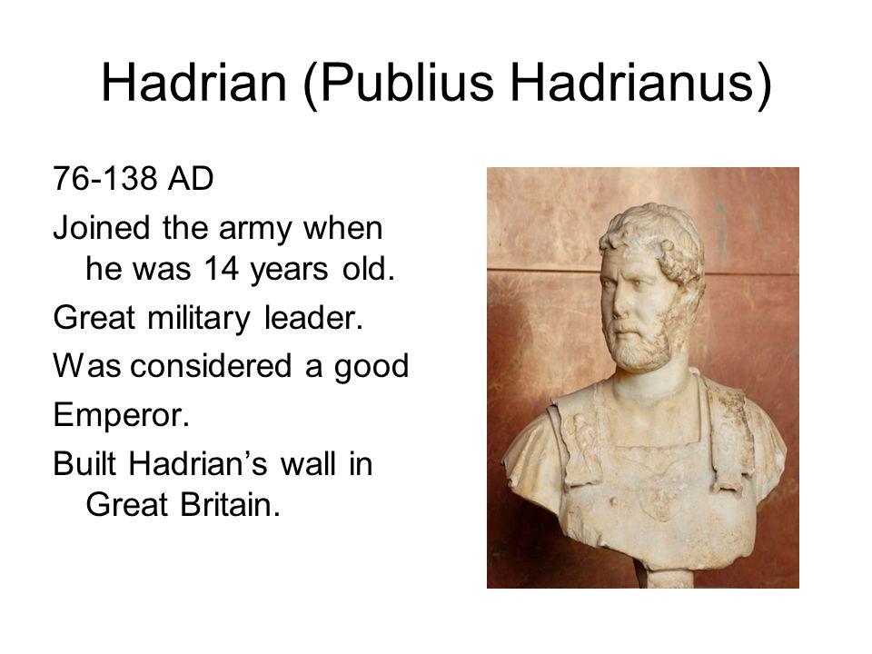 Hadrian (Publius Hadrianus)